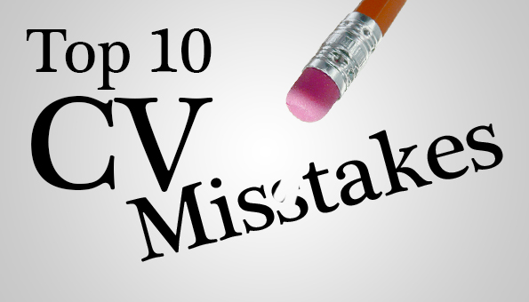 Top 10 CV Mistakes | Jobs For Security